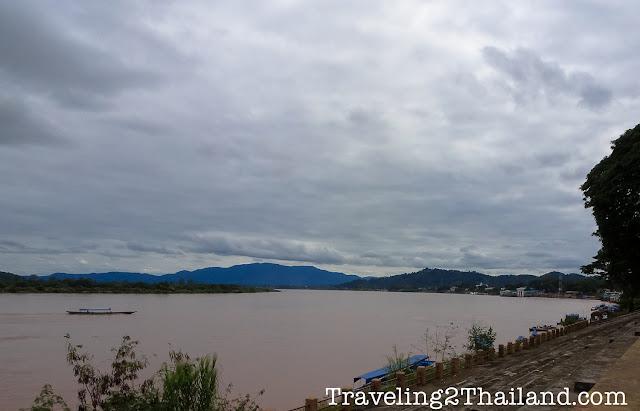 The Mekong River at Chiang Seang in North Thailand