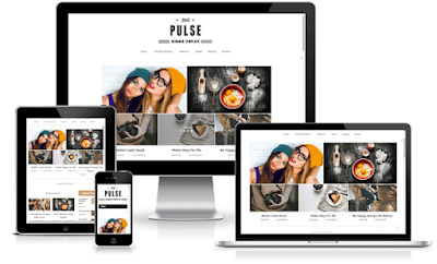 Pulse Responsive Blogger Template