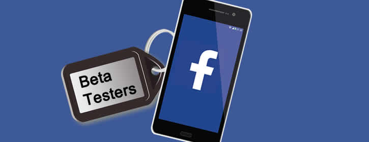 Facebook para Android - Facebook Beta testers