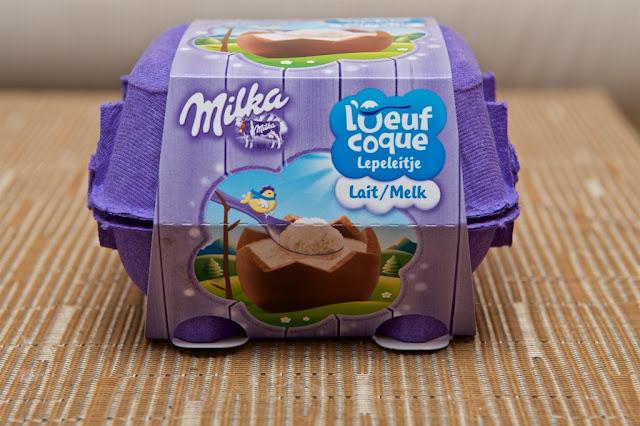 L'Œuf Coque Lait Milka