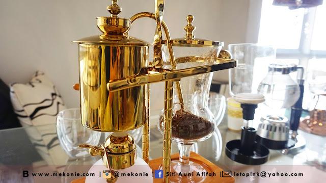 CAFE HISPTER DI KOTA DAMANSARA, CAFE STUDIO