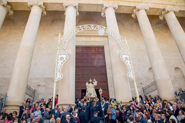 Uscita della Madonna della Scala da San Lorenzo
