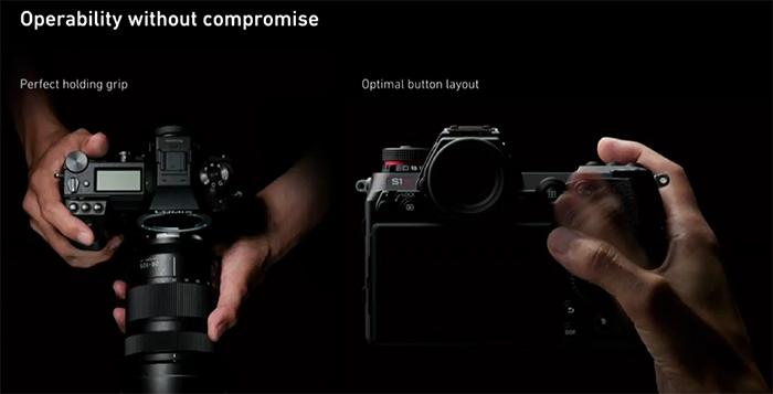 Эргономика камер Panasonic Lumix S1 и S1R
