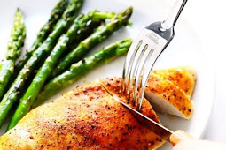 Low Carb Baked Chicken Breasts