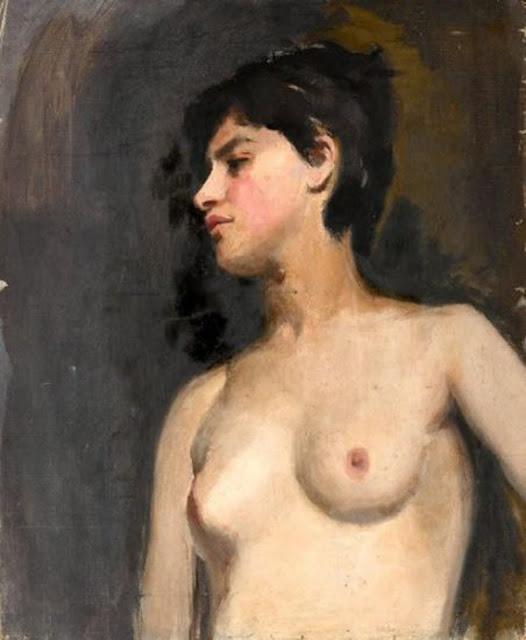 Albert Belleroche, Artistic nude, The naked in the art, Il nude in arte, Fine art