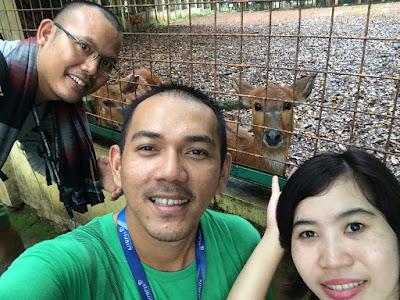 Wefie With Rusa - Ragunan Zoo