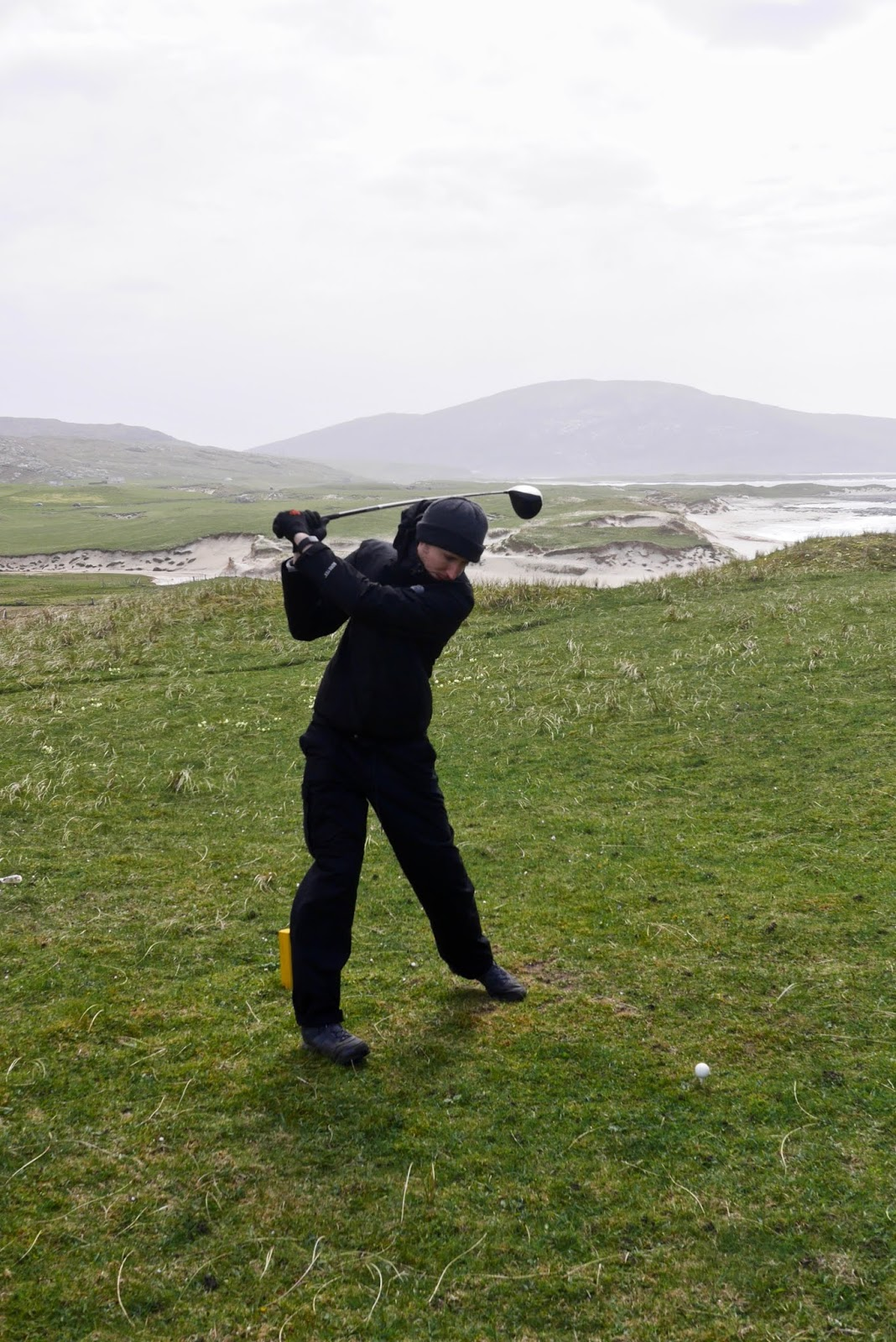 Barra Golf Course, Golfing in Barra  by Cal McTravel of www.CalMcTraves.com