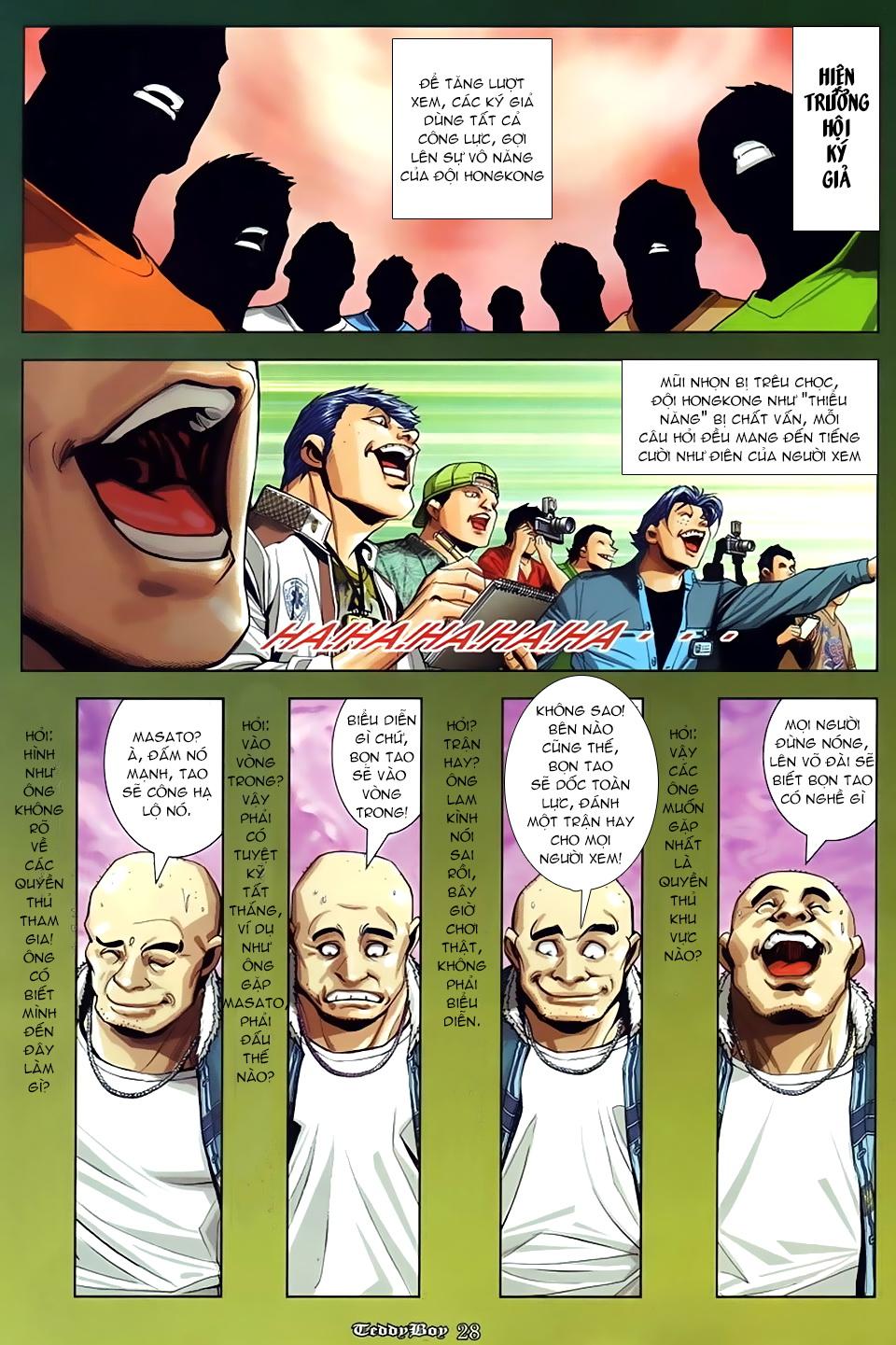 Người Trong Giang Hồ NetTruyen chap 870 - Trang 21