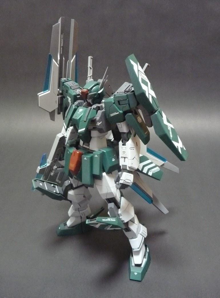 1/100 Gundam Cherudim Custom Build - Gundam Kits ...