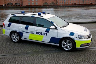 Police Car Website >> Copenhagenize Com Bicycle Urbanism By Design Reflective Material