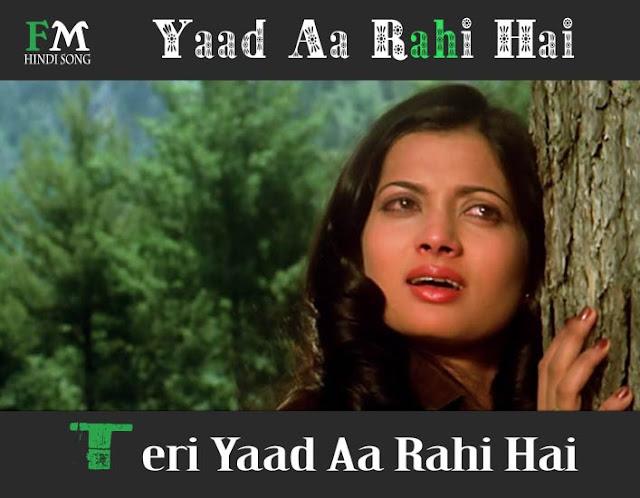 Yaad-Aa-Rahi-Hai-Teri-Yaad-Aa-Rahi-Hai-Love Story-(1981)