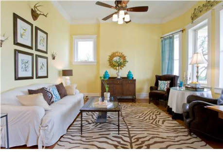 Soft Yellows From Benjamin Moore