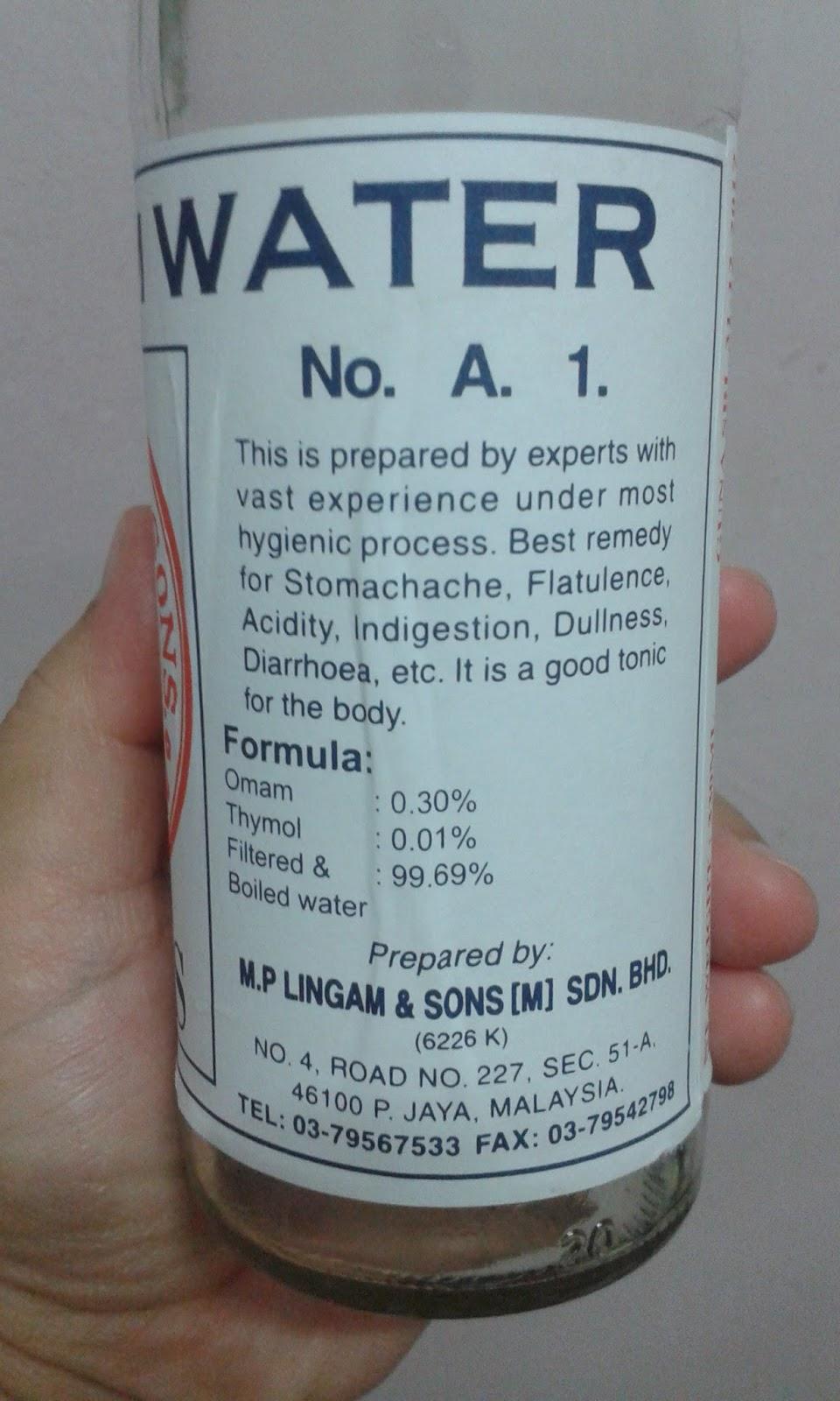 Air lemuju, khasiat air lemuju, sakit badan, minum air lemuju