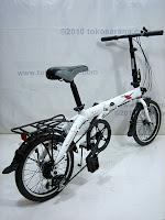 E 16 Inch Fold-X Sakura 7005 Alumunium Alloy Folding Bike