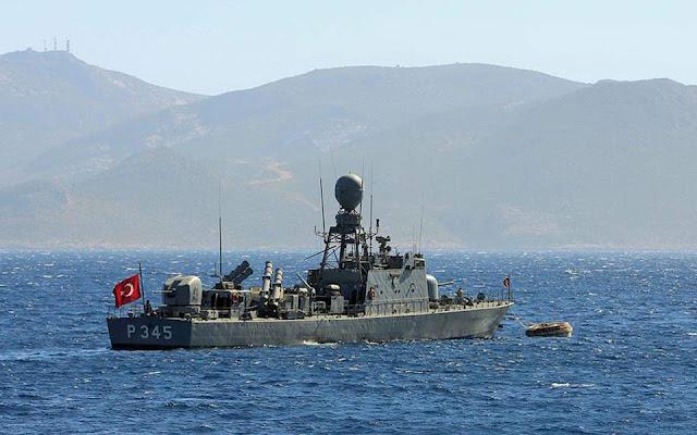 Τουρκική Navtex δεσμεύει θαλάσσια έκταση στην περιοχή του Καστελλόριζου
