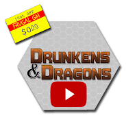 Free GM Resource: Drunkens & Dragons YouTube Channel