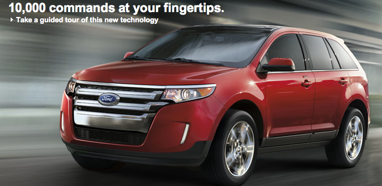 ford edge 2012 review ford puts you on the cutting edge. Black Bedroom Furniture Sets. Home Design Ideas