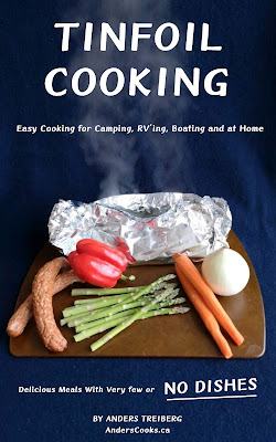 Front cover of my book Tinfoil Cooking