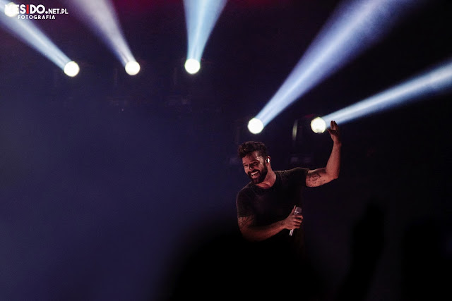 Ricky Martin na koncercie w Polsce we wrześniu 2018