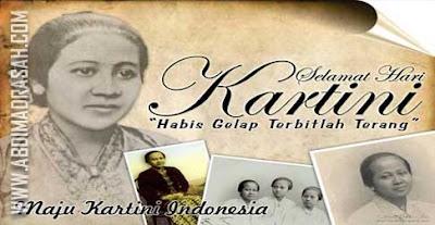 RA Kartini : Biografi, Surat, Pemikiran, Dan Buku Habis Gelap Terbitlah Terang