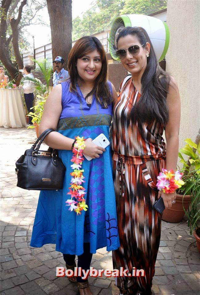 Juhi Parmar and Pooja Bedi, Bollywood Page 3 Celebs at Sheetal Nahar Brunch Party