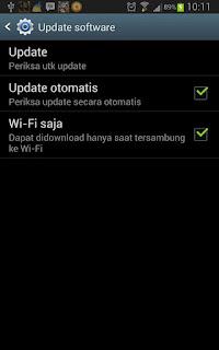 Cara Upgrade Android OS Pada Perangkat Samsung