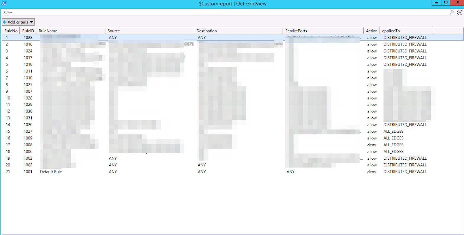 Zsoldier's Tech Blog: VMware: NSX: Using PowerCLI/PowerNSX to view
