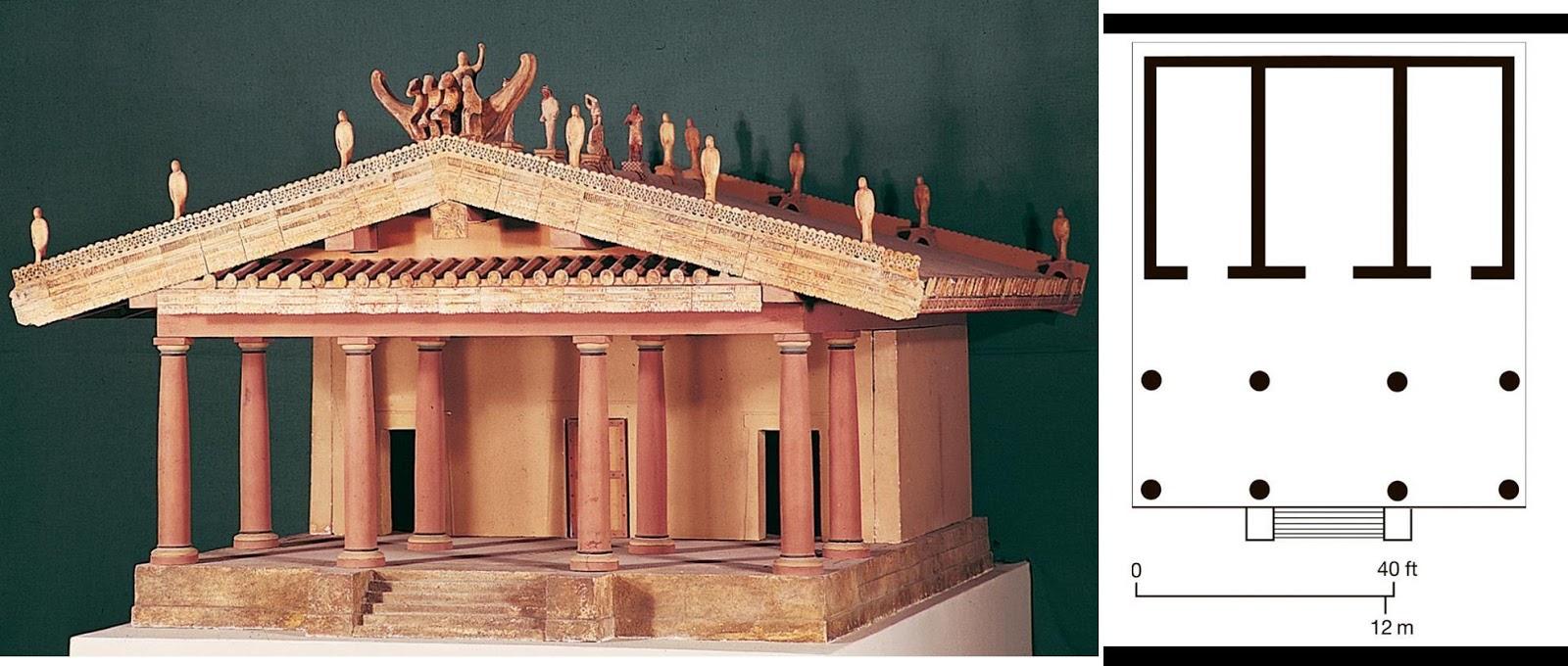 Model Courtesy Of Istituto Di Etruscologia E Antichita Italiche Universita Roma