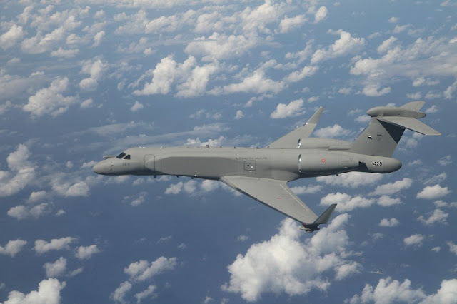 ISRAEL DELIVERS THE FIRST CAEW G550 TO ITALIAN AIR FORCE