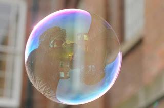 Fotografia creativa con Burbujas de jabón.