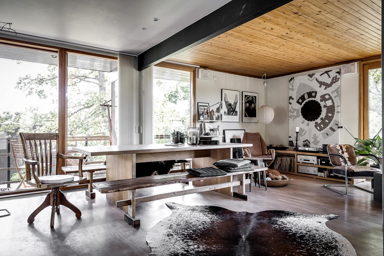 design attractor: Amazing Scandinavian villa with a cozy and calm ...