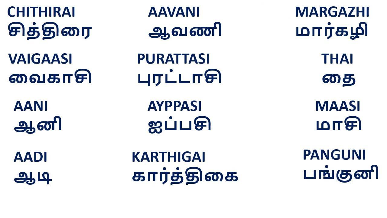 baby girl names in tamil language pdf