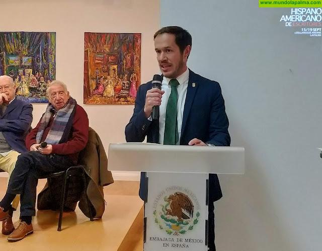 Presentación del III Festival Hispanoamericano de Escritores