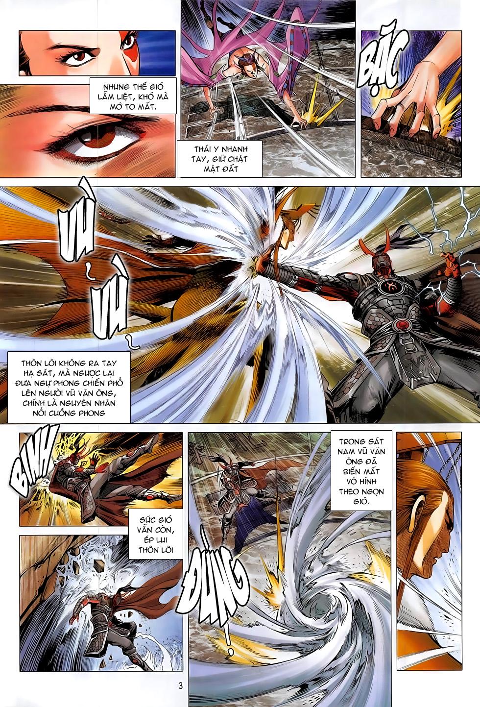Chiến Phổ chapter 13: trận liệt tại tiền trang 3