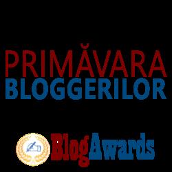 Ai blog? BlogAwards te invita sa participi in perioada 2 Aprilie - 15 Mai la concursul Primavara Bloggerilor 2014