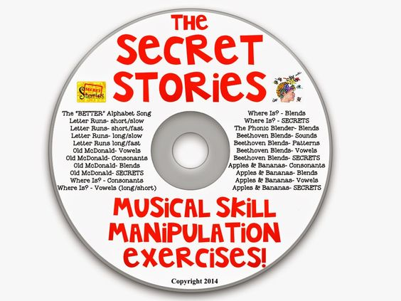 "Secret Stories® Phonics ""Musical  Brainteasers"" CD"