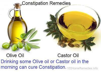 Oil Oil and castor Oil for Constipation relief