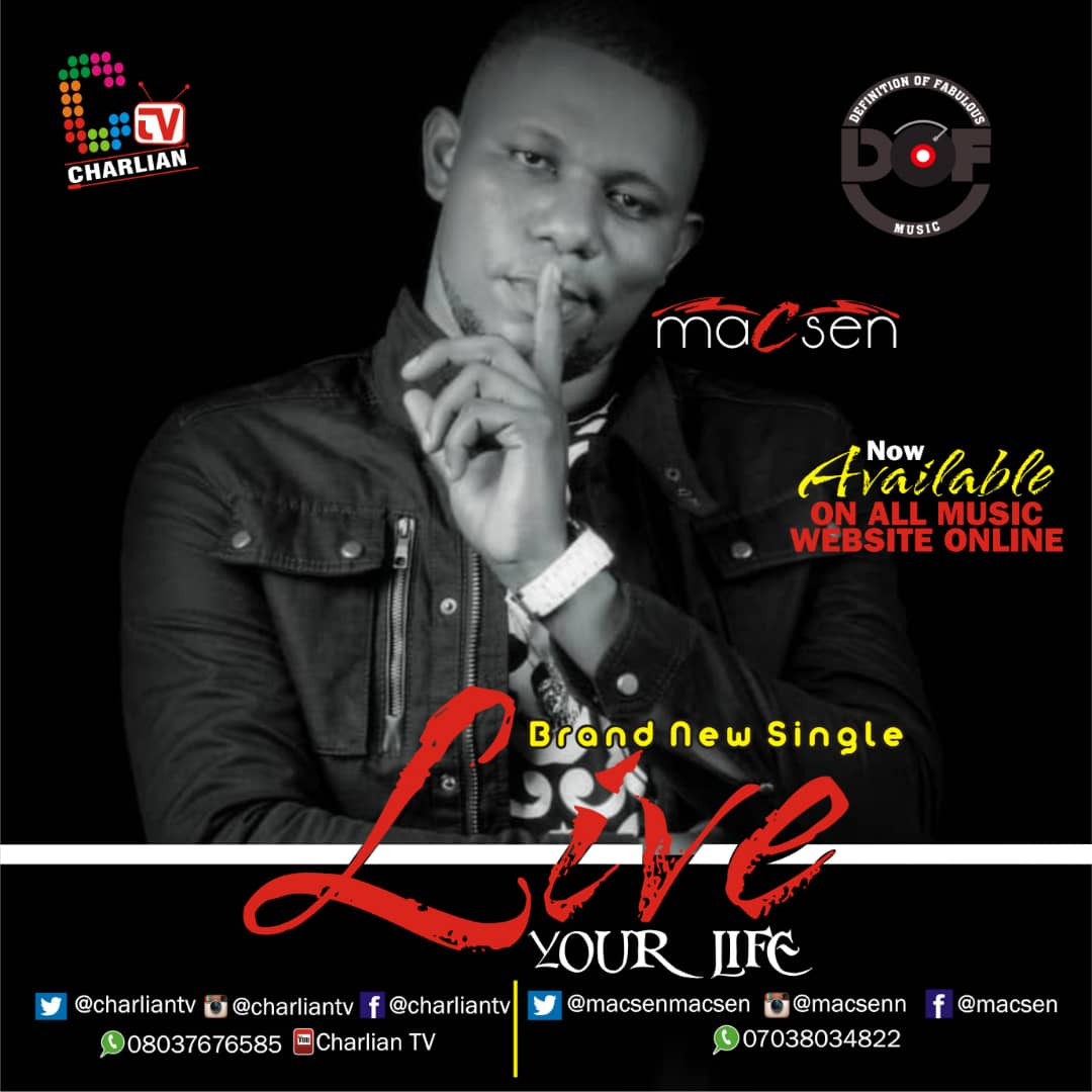 [Music] Macsen  – Live Your Life