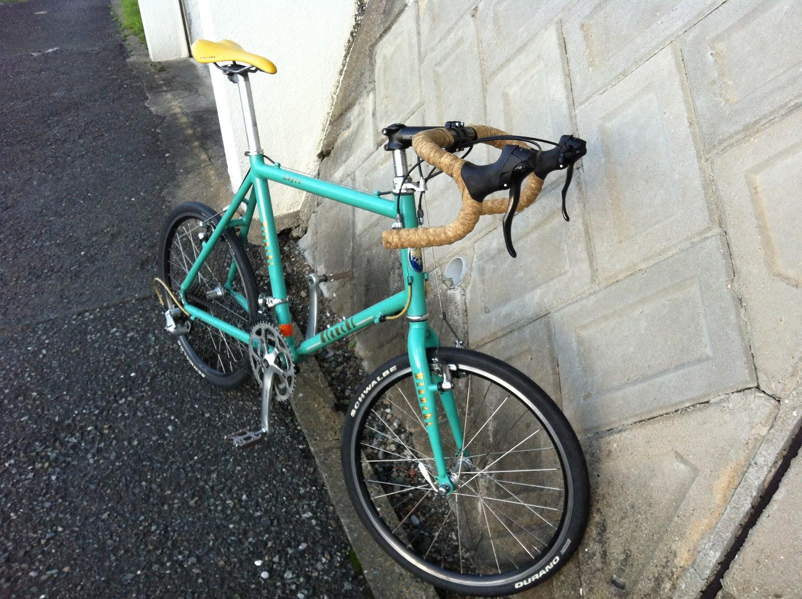 気ままな自転車乗りのおやじblog ビアンキ仮組完了