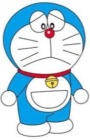 gambar kartun Doraemon sedih