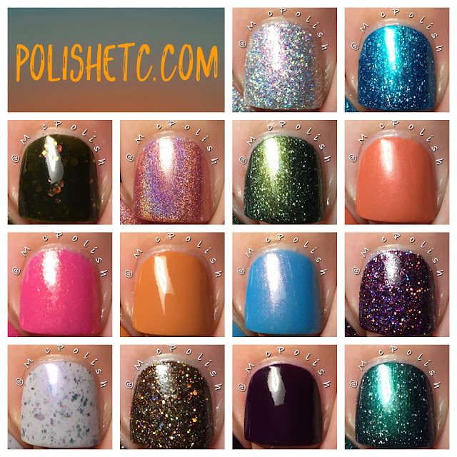 KBShimmer - Fall 2017 Blogger Collaboration Collection - McPolish