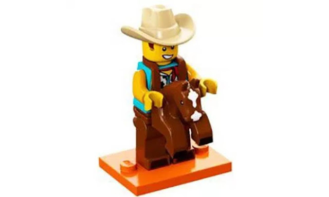 Lego Collectible Minifigures Series 18: Cowboy Suit Character