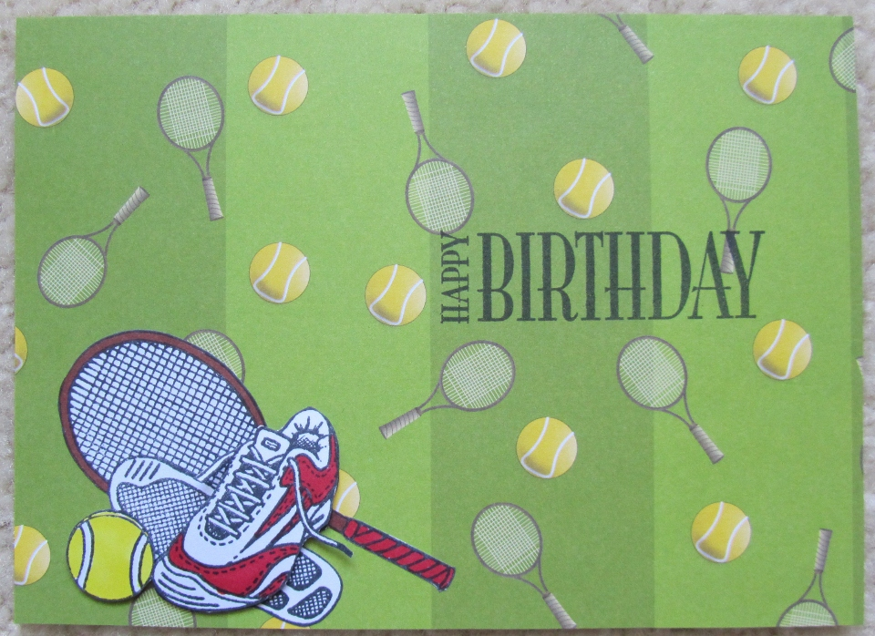 Deborahs gems olympic sports stamps hobby arts happy birthday personal impressions tennis inks memento tuxedo black accessories promarkers kanban designer paper card from m4hsunfo Choice Image