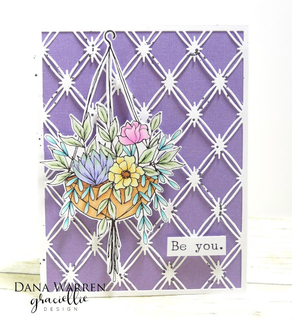 Dana Warren - Kraft Paper Stamps - Graciellie Designs - Spectrum Noir ColourBlend Pencils