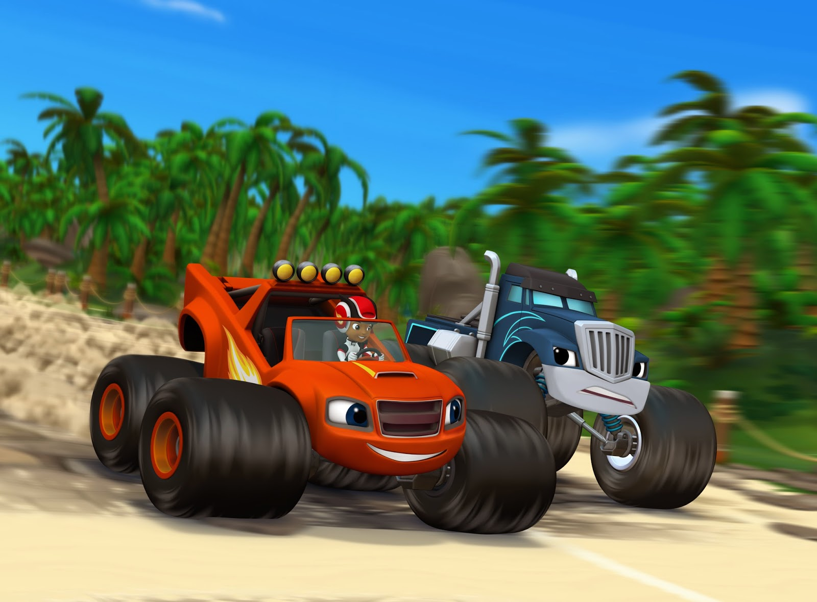 Blaze And The Monster Machines Games Online - Play for ...