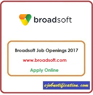 Broadsoft Hiring Freshers Test Engineer Jobs in Bangalore Apply Online