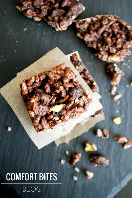 Kinda Healthy Fruit and Nut Rice Bars