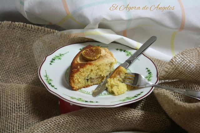 Tarta de higos, tarta de manzana, tarta otoñal