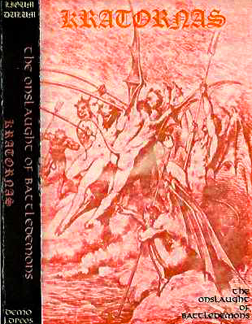 KRATORNAS DEMO 1999 - 2nd Version Cover