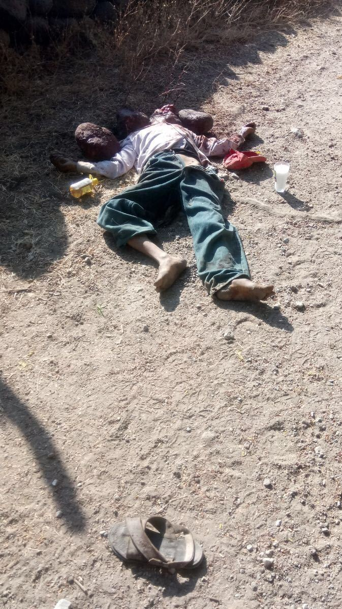 Encuentran muerto a campesino en Tlaxmalac